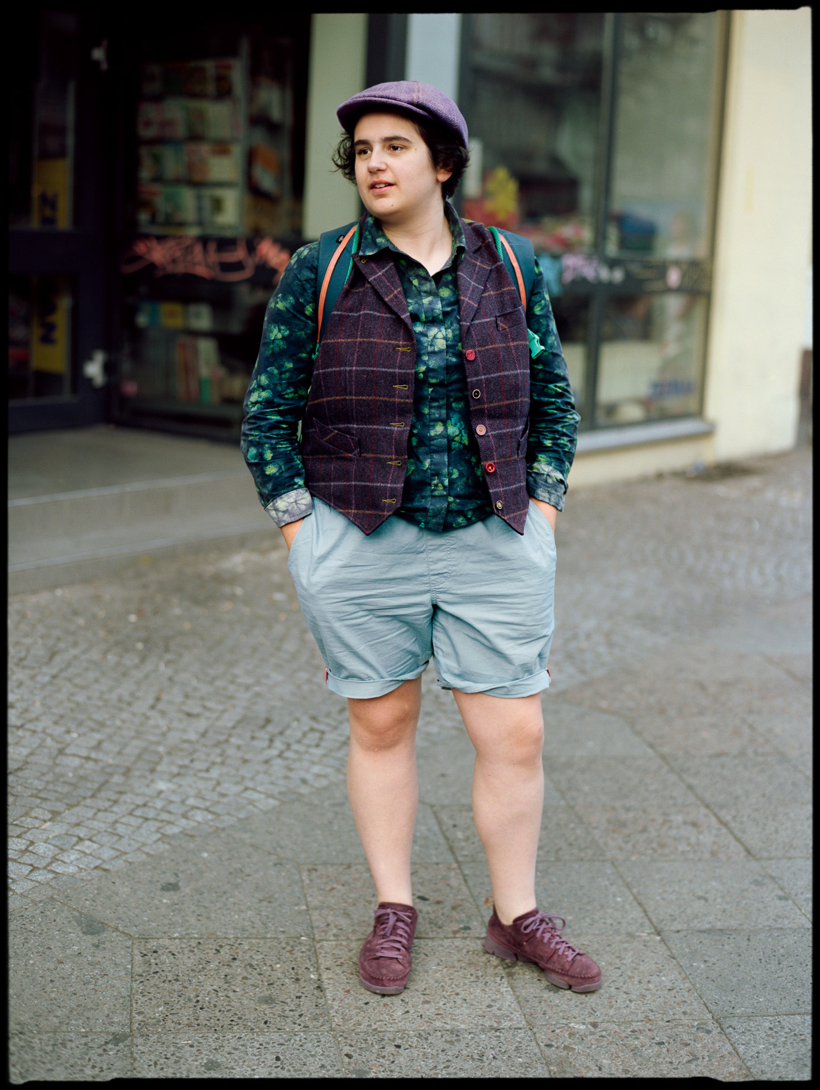 Berlin street style, analog photography