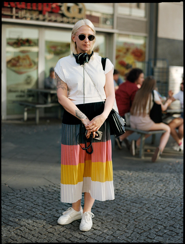 Berlin street style, analog Photoblog